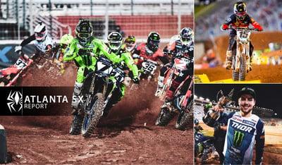 Rekluse Supercross Report - Atlanta