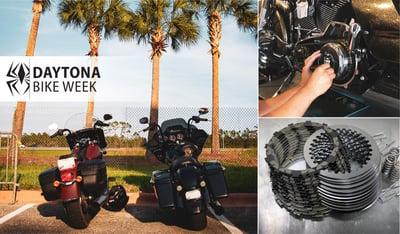 Rekluse Performance V-Twin Clutch Installations at Daytona Bike Week