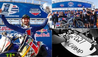 Dylan Ferrandis Wins 2021 450 Motocross Championship