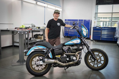 Jesse Rooke's Harley-Davidson Build Featuring Rekluse RadiusX