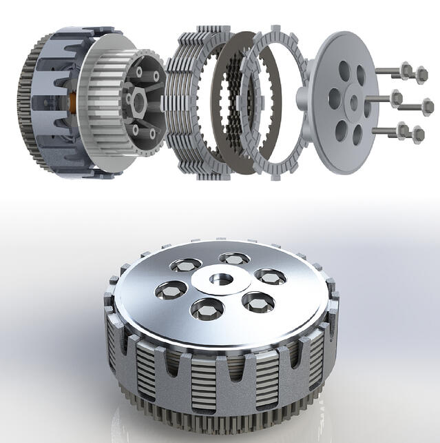 Rekluse OEM Clutch Renderings