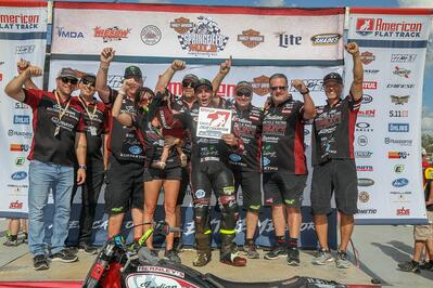 Jared Mees Wins Second Consecutive American Flat Track Twins Championship