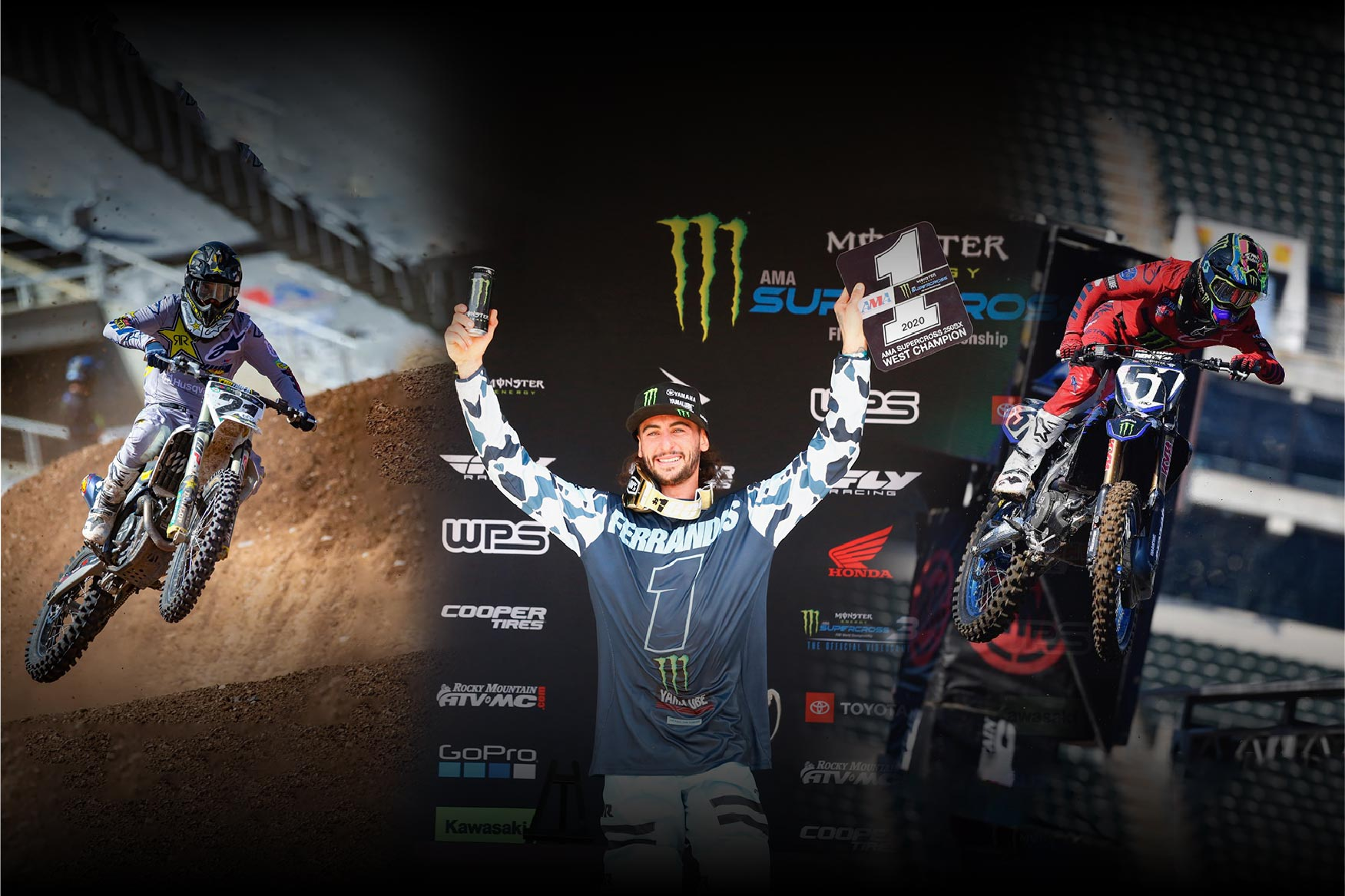 Blog Feature Photo 2020 Supercross results
