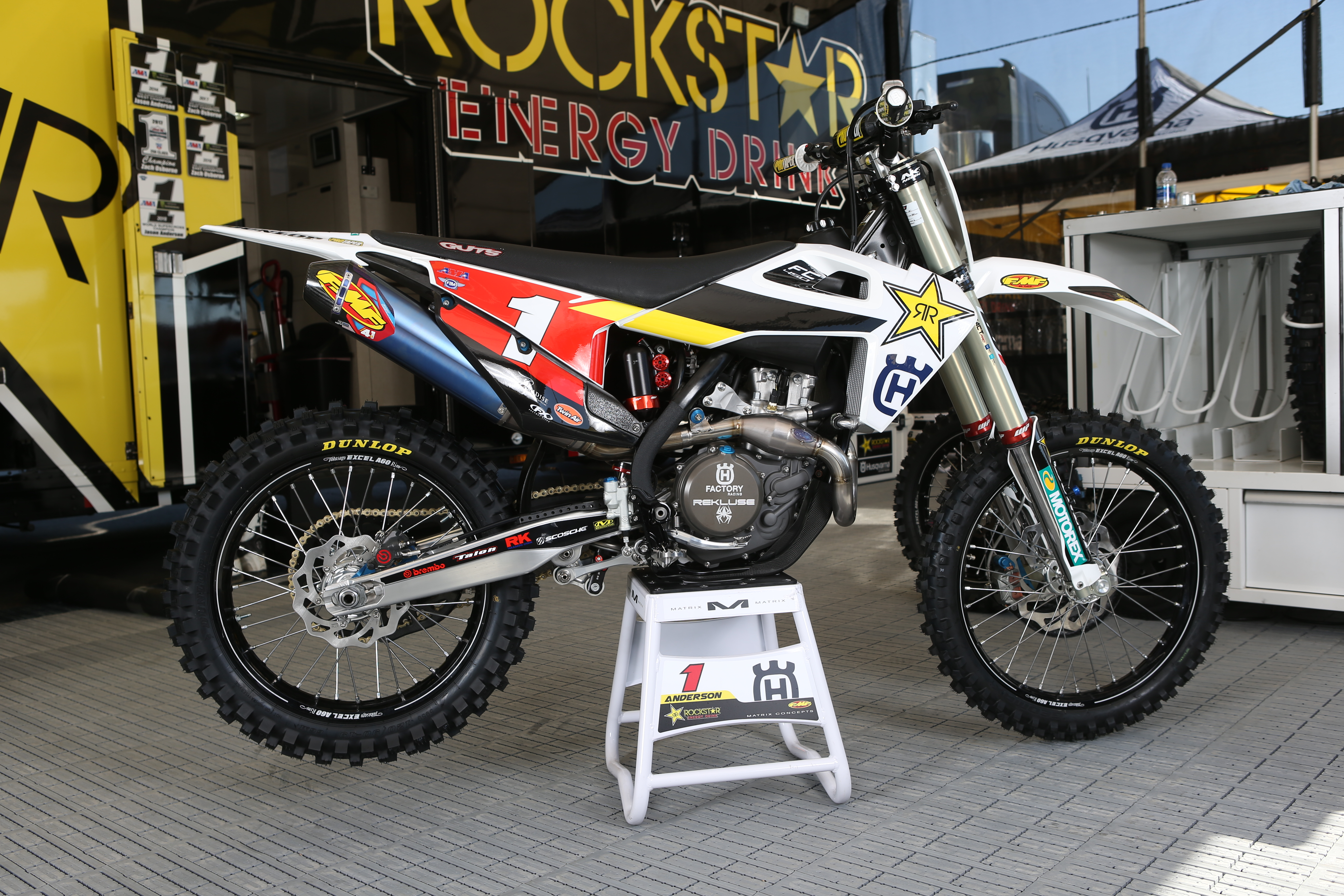Breaking Down Jason Anderson's Rockstar Energy Husqvarna Factory FC 450