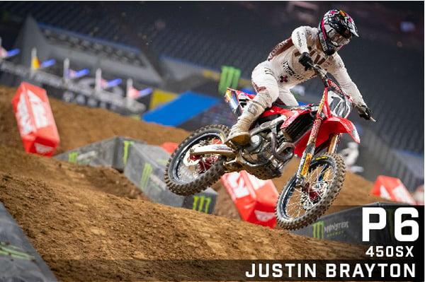 Justin Brayton - Muc-Off Honda