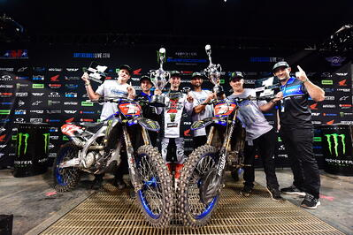 Rekluse Riders Nichols and Cooper Sweep 250 Supercross Championship in 2021