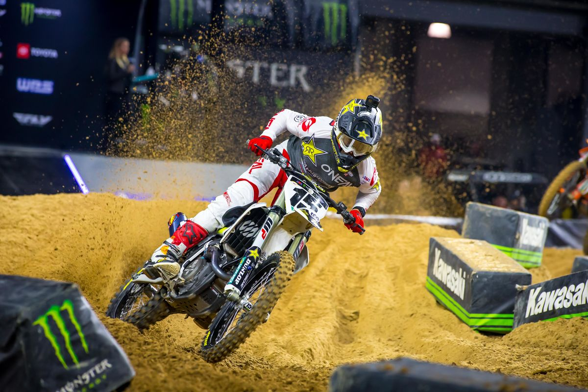 Ryan Sipes Nashville Supercross SX Rekluse