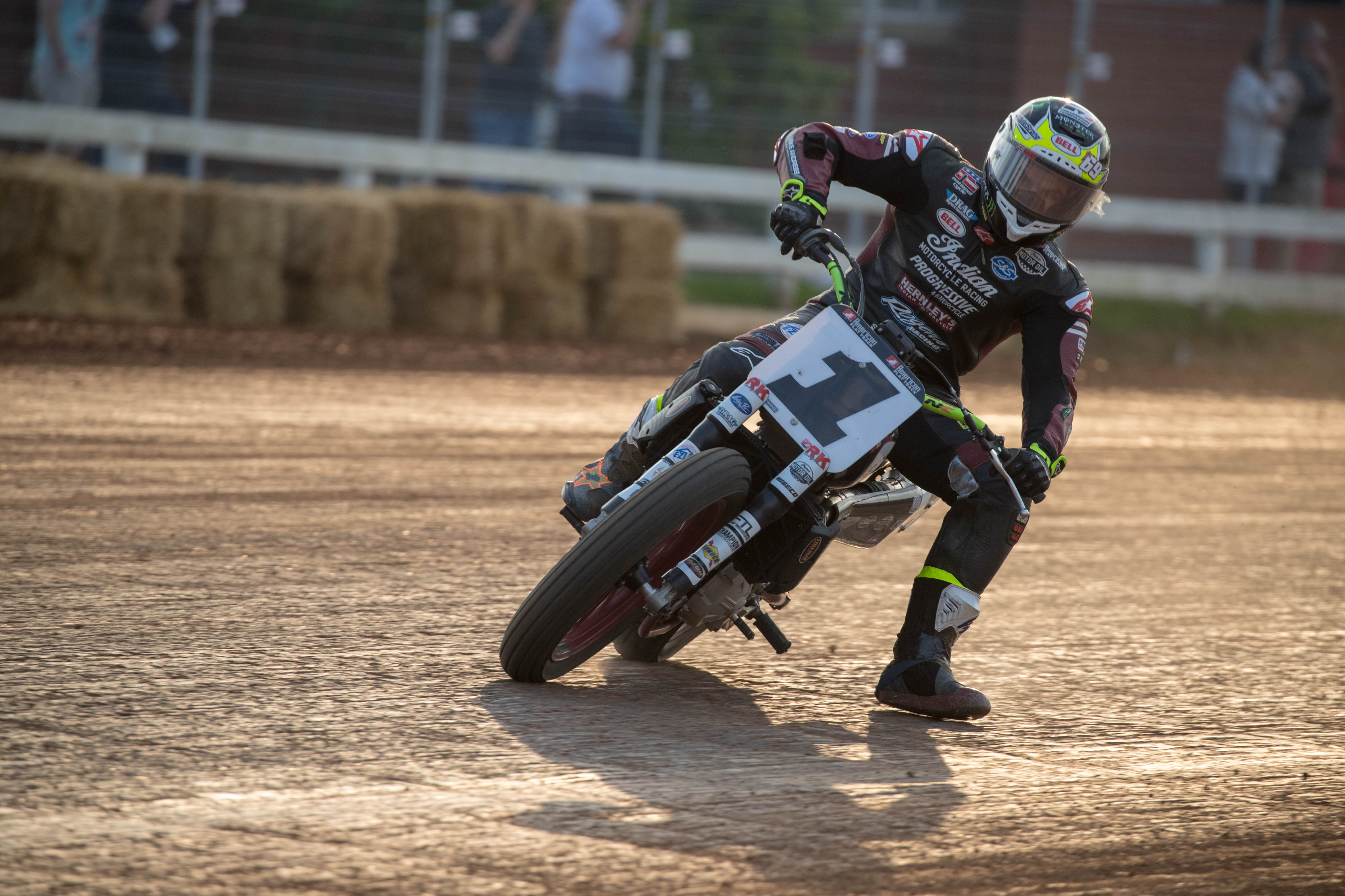 Jared Mees Red Mile - Credit American Flat Track, Scott Hunter