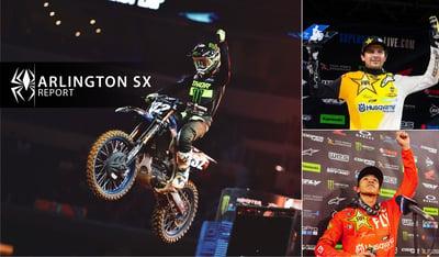 Rekluse Supercross Report - Arlington