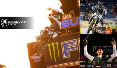 Rekluse Supercross Report - Orlando