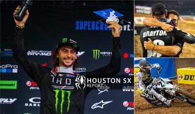 Rekluse Supercross Report - Houston